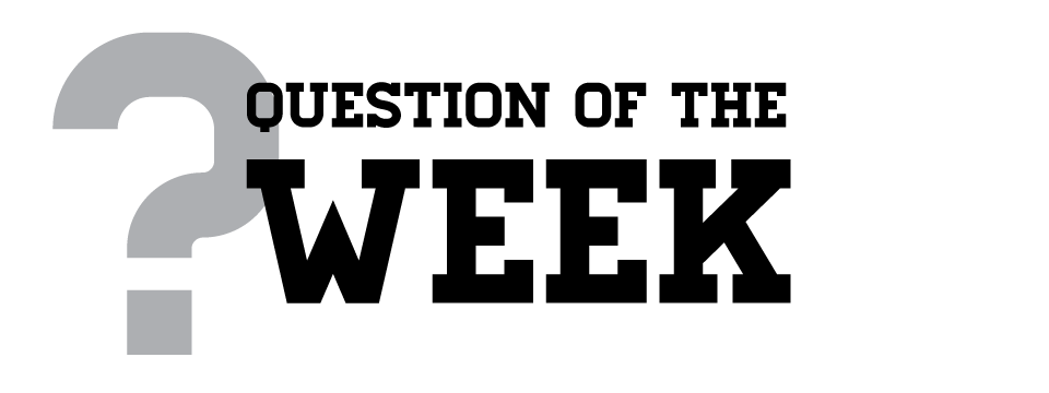 youth ministry question of the week Question of the week series