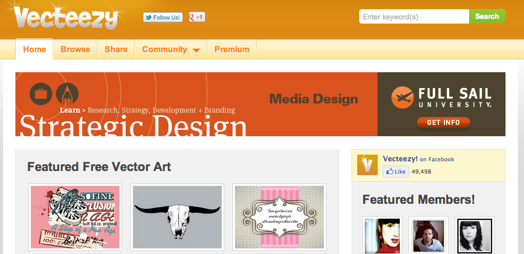 Screen Shot 2012 11 22 at 2.39.49 PM Freebie Friday: 4 great websites for free vectors