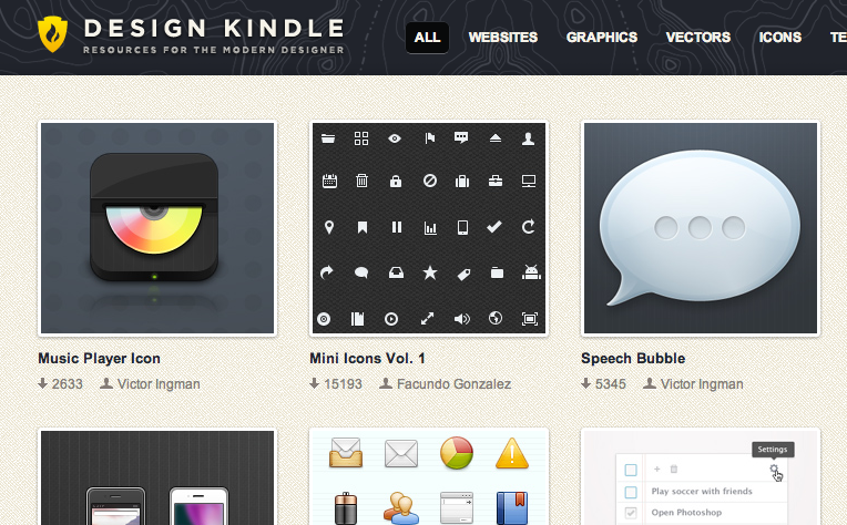 Screen Shot 2012 11 22 at 2.40.37 PM Freebie Friday: 4 great websites for free vectors