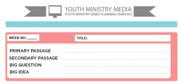 youth ministry media sermon series template 2
