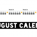 Freebie Friday: Free August 2012 Calendar
